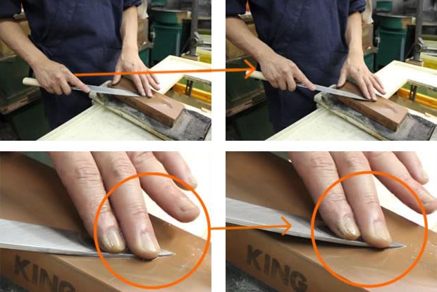 研ぎ 出刃 包丁 方 の 和包丁の柄(差し柄)の交換方法