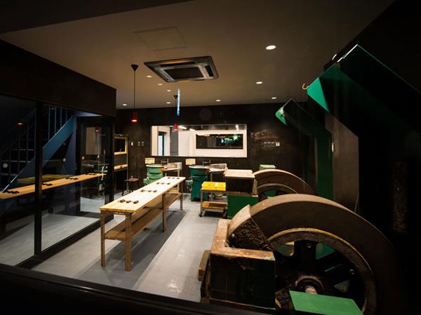 堺本店のオープンファクトリー