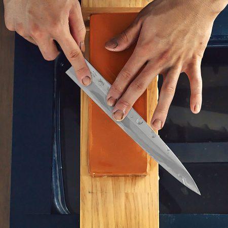 初級編の刺身包丁の研ぎ方